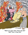 Cartoon: Hells EU (small) by EASTERBY tagged political,comment