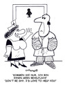 Cartoon: Hells helper (small) by EASTERBY tagged hospitalcare nurses