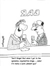 Cartoon: NICE GUY (small) by EASTERBY tagged alcohol,agressivness
