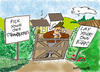 Cartoon: PICK OR LAY! (small) by EASTERBY tagged agriculture,selfservice