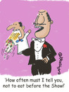 Cartoon: Puppet with stage fright (small) by EASTERBY tagged puppet,stage,fright