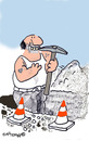 Cartoon: Road Signs 11 (small) by EASTERBY tagged road,works,signs