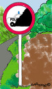 Cartoon: Road Signs 9 (small) by EASTERBY tagged road works signs