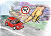 Cartoon: SLOOOOOOOW down (small) by EASTERBY tagged speed,limits,cars,drivers