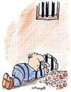 Cartoon: The big ESCAPE (small) by EASTERBY tagged covicts,prison,escaping