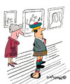 Cartoon: Under Macs Kilt (small) by EASTERBY tagged scotsmen,kilts