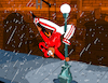 Cartoon: Breakdancing in the rain (small) by Munguia tagged singing,in,the,rain,dance,break,parody,famous,classic,movie,broadway