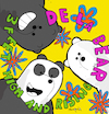 Cartoon: De la Bear (small) by Munguia tagged de,la,soul,feet,high,and,rising,cover,album,parody,parodies,spoof,version,fun,funny,bare,bears,escandalosos,cn,cartoon,network