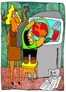 Cartoon: Global Warming (small) by Munguia tagged warming,world,global,kid,calentamiento,refrigeradora