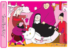 Cartoon: Good Bye Kitty 2 (small) by Munguia tagged lamento,muerte,kitty,good,bye,kill,pink,cat,pussy,petrus,christus,munguia