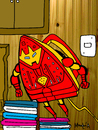Cartoon: Iron Man (small) by Munguia tagged iron man marvel superheroes heroes super robot munguia costa rica