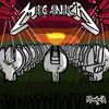 Cartoon: Mecanica (small) by Munguia tagged master,of,puppets,mecanica,metallica,album,cover,parody,wrench,cementery