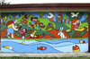 Cartoon: Mural Hogar Sol (small) by Munguia tagged mural,painting,child,children,colour,joy,happines,happy