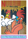 Cartoon: No mas peleas de Gallos (small) by Munguia tagged lautrec,toulouse,molino,rojo,molin,rouge,munguia,gallos,cocks,rooster,fight