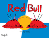 Cartoon: Red Dead Bull (small) by Munguia tagged bull fight toro munguia stadium redbull red dead blood killing kill