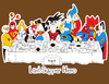 Cartoon: the Last supper Hero (small) by Munguia tagged last,supper,super,hero,batman,superman,goku,dragon,ball,flash,wonder,woman,men,thunder,cat,spiderman,wolverine,he,man,green,lentern