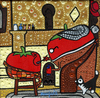 Cartoon: Tomate tu medicina (small) by Munguia tagged take,your,medicine,norman,rockwell