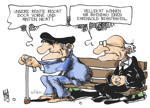 Das andauernde Problem mit der Altersarmut - Macht - jetzt.de