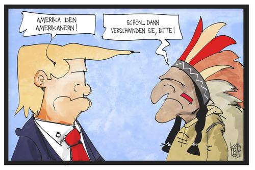 Trump Indianer