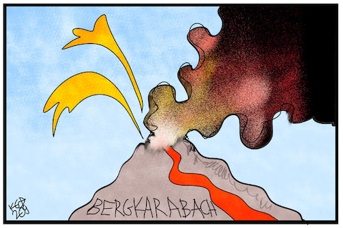 Bergkarabach Von Kostas Koufogiorgos Politik Cartoon Toonpool