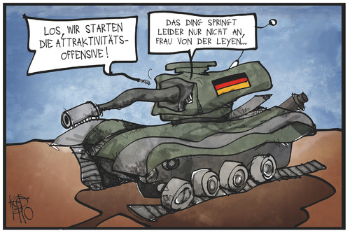Bundeswehr-Charme-Offensive