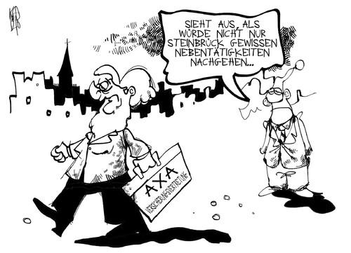 Cdu Und Axa Von Kostas Koufogiorgos Politik Cartoon Toonpool
