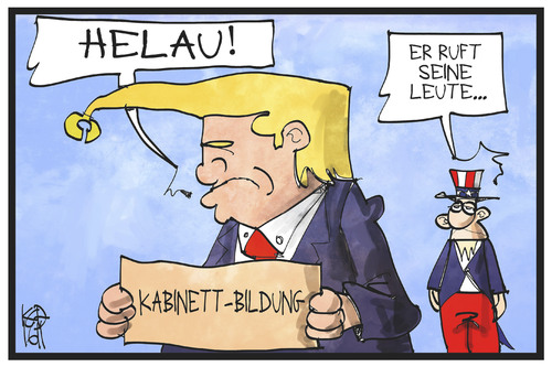 Donald Trump Von Kostas Koufogiorgos Politik Cartoon Toonpool
