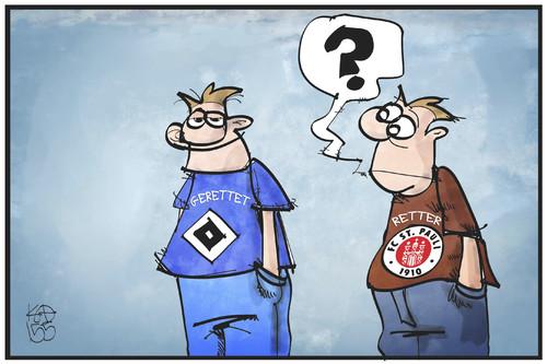 Hsv Karikatur