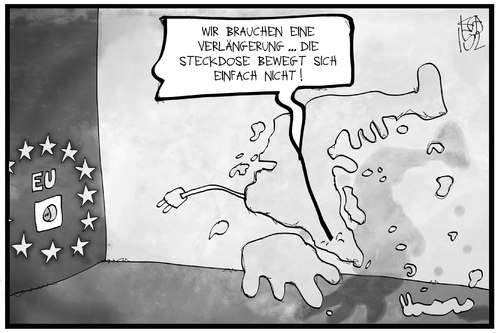 Cartoon: Griechenland-Hilfe (medium) by Kostas Koufogiorgos tagged karikatur,koufogiorgos,illustration,cartoon,griechenland,stecker,kabel,steckdose,verlängerung,hilfe,eu,europa,politik,wirtschaft,karikatur,koufogiorgos,illustration,cartoon,griechenland,stecker,kabel,steckdose,verlängerung,hilfe,eu,europa,politik,wirtschaft