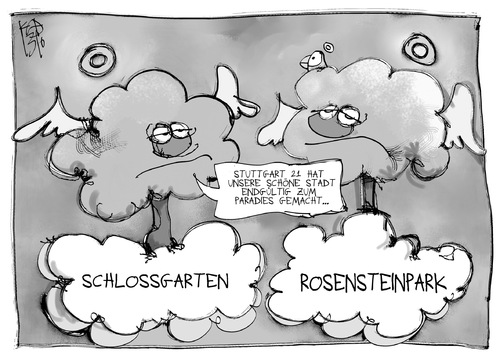 Cartoon: Stuttgart 21 (medium) by Kostas Koufogiorgos tagged stuttgart,21,baum,rosensteinpark,bahn,schlossgarten,gelbkopfamazone,umwelt,paradies,papagei,park,karikatur,koufogiorgos,stuttgart,21,baum,rosensteinpark,bahn,schlossgarten,gelbkopfamazone,umwelt,paradies,papagei,park,karikatur,koufogiorgos
