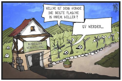 Werder Abstieg