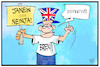 Cartoon: Brexit definitiv (small) by Kostas Koufogiorgos tagged karikatur,koufogiorgos,illustration,cartoon,brexit,entscheidung,ja,neiun,eu,europa,grossbritannien