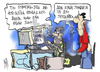 Cartoon: Langarde list (small) by Kostas Koufogiorgos tagged usb,langarde,list,tax,evasion,greece,forodiafigi,private,data,protection