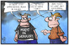 Cartoon: Made in Germany (small) by Kostas Koufogiorgos tagged karikatur,koufogiorgos,illustration,cartoon,export,made,in,germany,handel,urlaub,deutschland,ausland,politik,wirtschaft