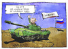 Cartoon: Olympischer Frieden (small) by Kostas Koufogiorgos tagged karikatur,illustration,cartoon,koufogiorgos,panzer,putin,krieg,konflikt,olympischer,frieden,armee,olympia,sochi,sotschi,ukraine