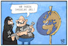 Cartoon: Terrorismus (small) by Kostas Koufogiorgos tagged karikatur,koufogiorgos,illustration,cartoon,terrorismus,terroristen,globus,welt,erde,ziel,waffen,attentat