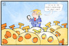 Cartoon: Trump vs. TikTok (small) by Kostas Koufogiorgos tagged karikatur,koufogiorgos,illustration,cartoon,trump,tiktok,corona,problem,dekret,usa,präsident
