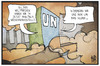 Cartoon: UN-Klimakonferenz (small) by Kostas Koufogiorgos tagged karikatur,koufogiorgos,illustration,cartoon,un,klima,new,york,klimakonferenz,weltfrieden,vereinte,nationen,tagung,umwelt,politik