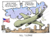 Cartoon: US-Drohnen (small) by Kostas Koufogiorgos tagged drohne,usa,obama,waffe,militär,karikatur,koufogiorgos