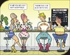 Cartoon: A flirt (small) by JotKa tagged sorry,love,flirting,relationships,get,to,know,opposites,hate,dating,girlfriend,boyfriend,separation,meet,local,partnership,bar,drinks,happy,hour,fuck,them,all,redneck,heartbreak,toonpool,jotka
