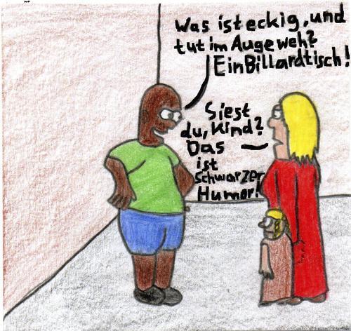 Cartoons Schwarzer Humor