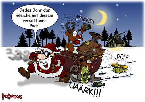 Jedes jahr das gleiche von karicartoons medien kultur cartoon toonpool - Lustige fotos zu weihnachten ...