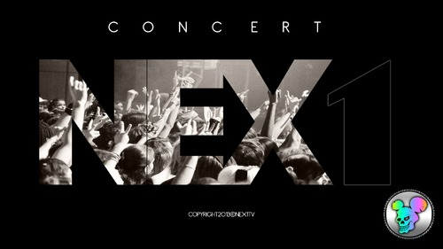 Cartoon: nex1 tv (medium) by Babak Mo tagged nex1,tv,babak,mohammadi,graphic,design,typography,channel,concert