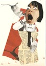 Cartoon: Dada art (small) by Babak Mo tagged babakmo,art,collage,babak,mo,artist,kunst