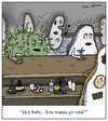 Cartoon: Going Viral (small) by Humoresque tagged viral,virus,viruses,bacteria,bacterium,infection,infections,disease,diseases,video,videos,go,going,cell,cells,biology,biologists,germ,germs,microbe,microbes,std,amoeba,amoebas,single,pick,up,line,lines,internet,fad,sensations