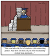 Cartoon: Outstanding Payments (small) by Humoresque tagged college,colleges,university,universities,graduation,graduations,grad,school,schools,diploma,diplomas,student,loan,loans,payment,payments,fee,fees,tuition,cost,costs,fund,funds,funding,grade,grades,financial,aid,outstanding,debt
