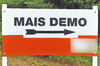 Cartoon: Mais-Demo (small) by carlos tagged demo,demonstration,mais