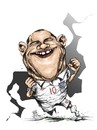 Cartoon: rooney england (small) by cakBOY tagged rooney,england,caricature,cartoon,futball,sports