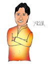 Cartoon: Kumar Vishwas Caricature (small) by Amar cartoonist tagged kumar,vishwas,aap,amar,caricature