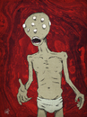 Cartoon: Needs... (small) by thomas_hollnack tagged needs,eyes,hunger,lust,monster